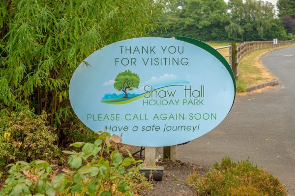 shaw hall sign