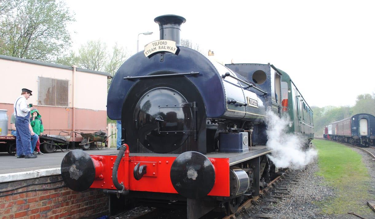telford steam train
